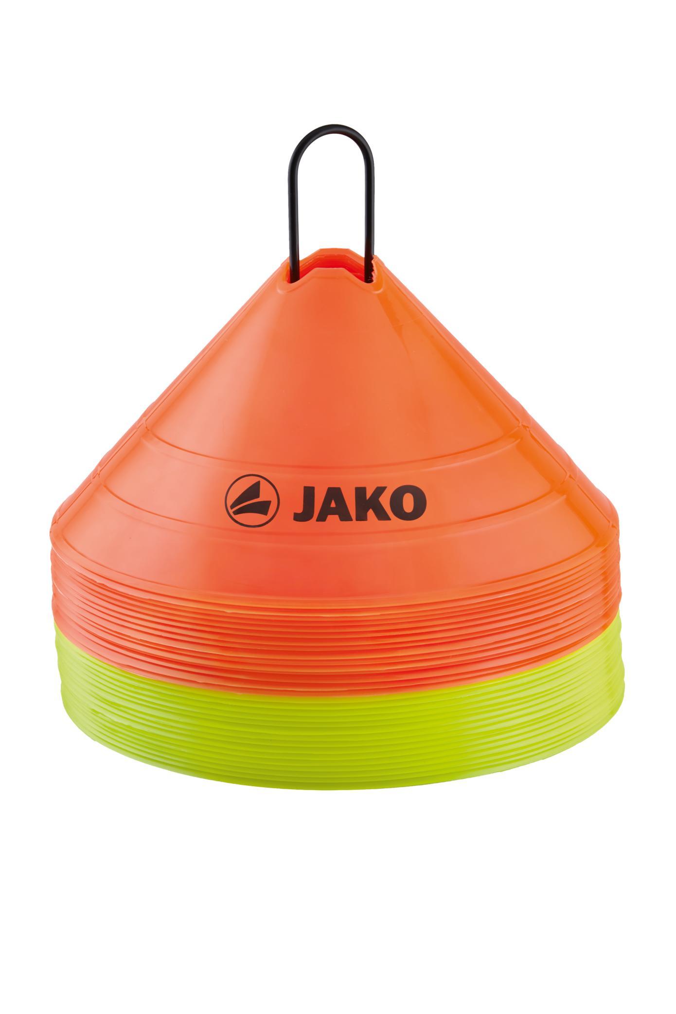 Jako Markingshoedjes - 30 cm diameter - Oranje/Geel