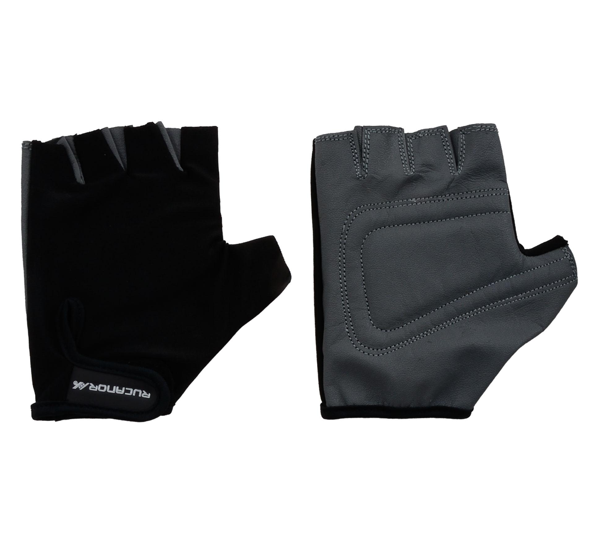 Rucanor Fitness Handschoenen zwart - grijs
