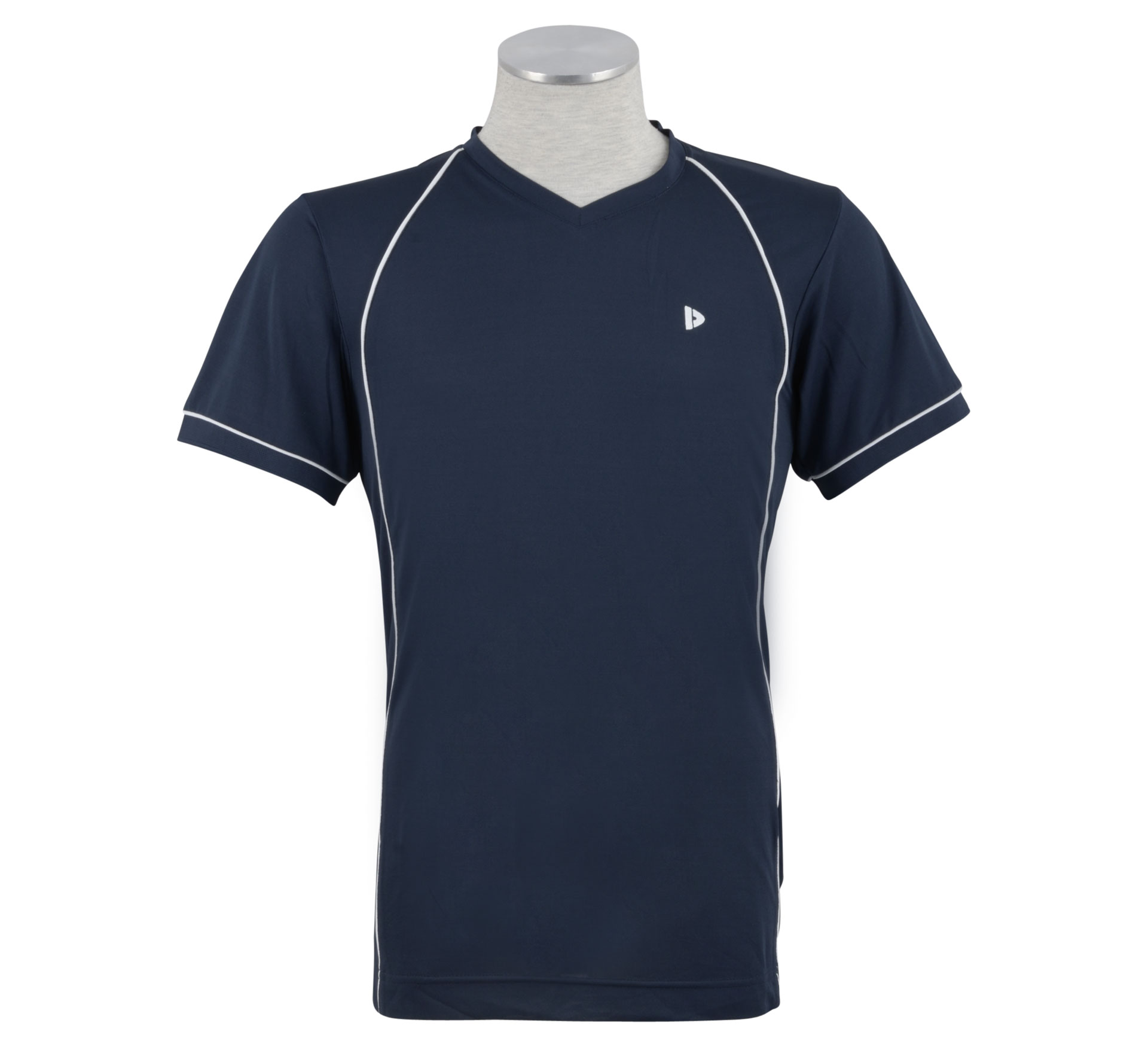 Donnay Sportshirt Tony Heren navy - wit