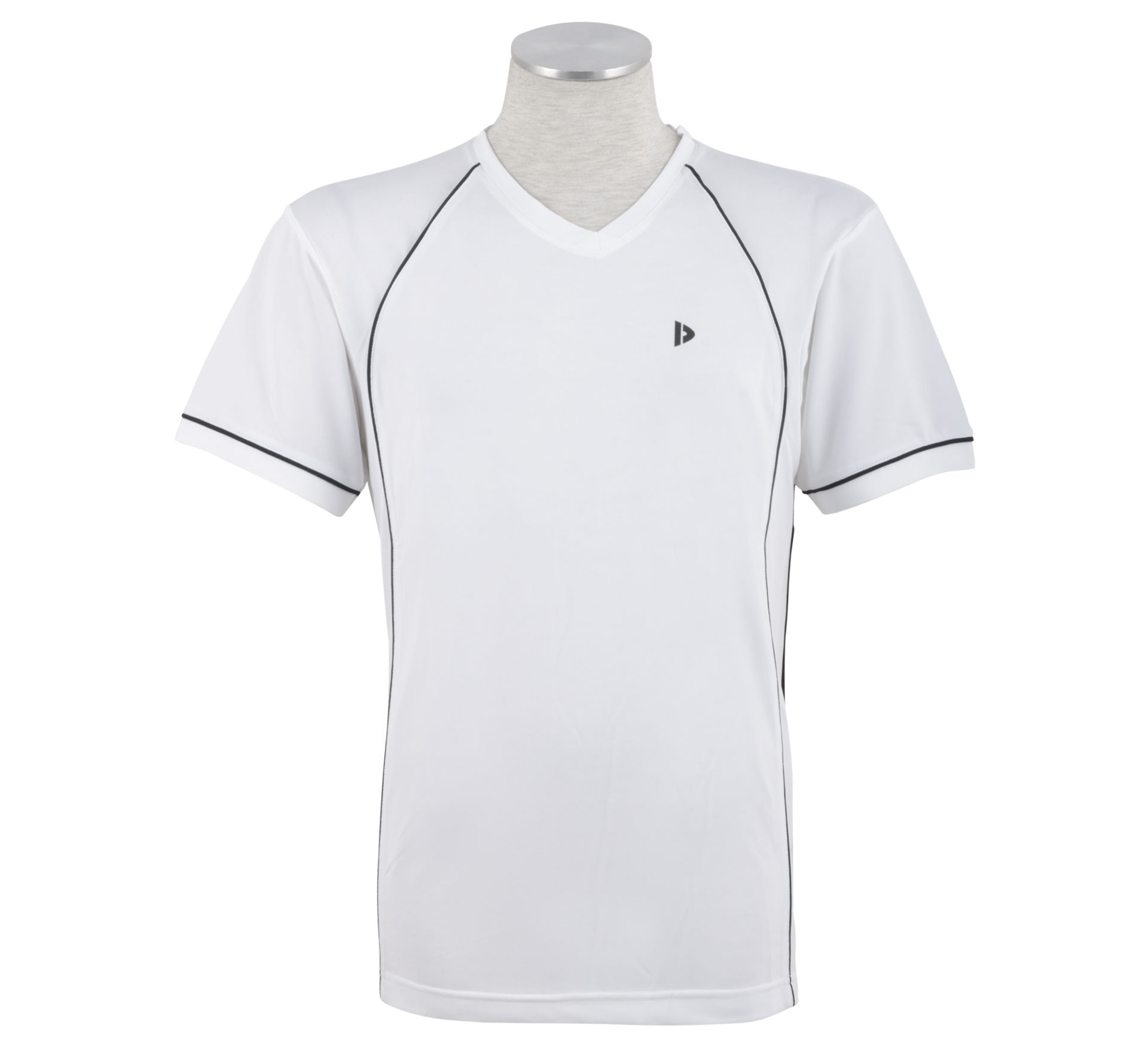 Donnay  Sportshirt Tony Heren wit - zwart