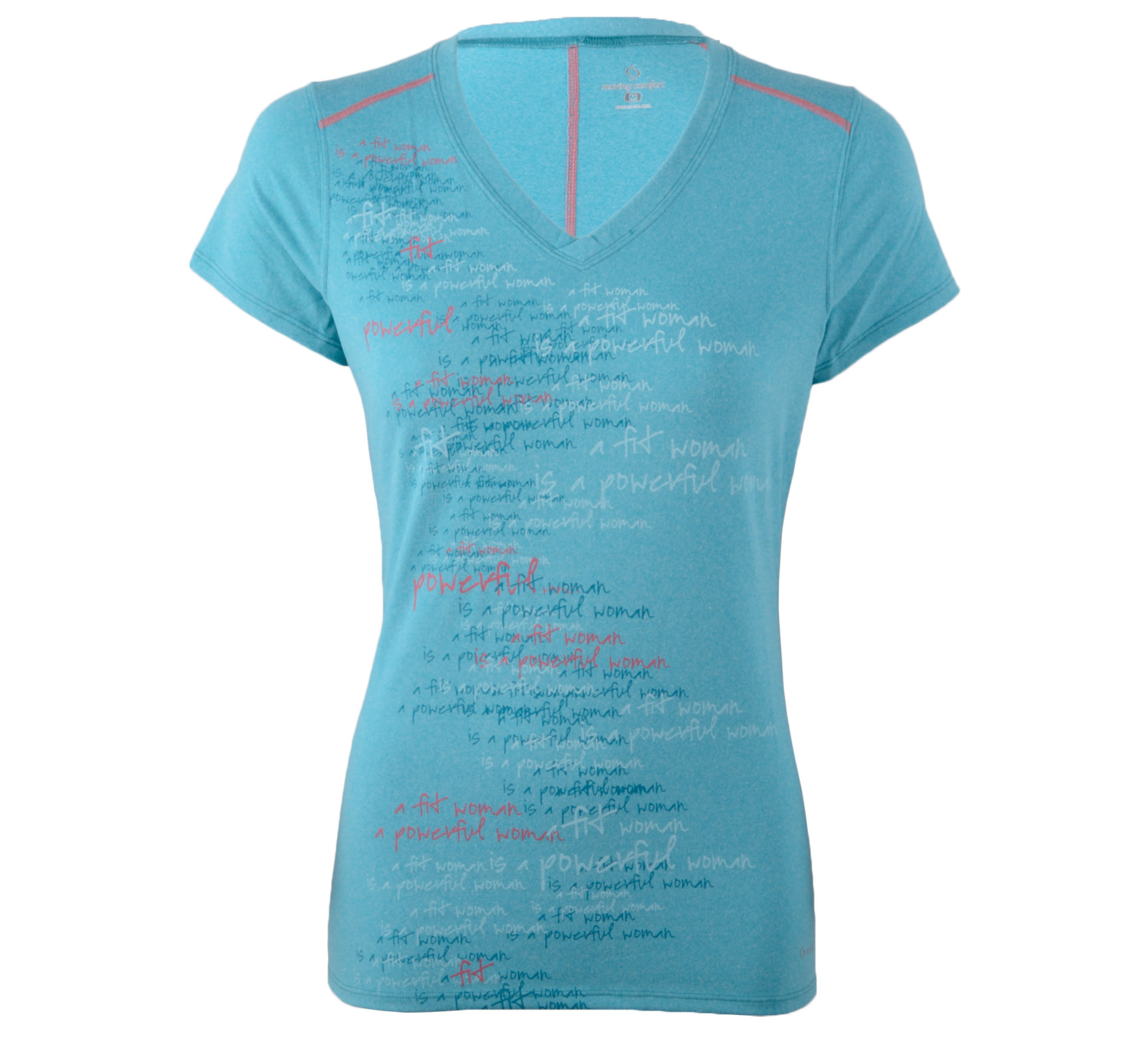 Moving Comfort Performance Tee blauw