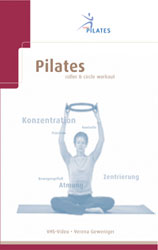 Sissel DVD Pilates Roller & Circle Frans