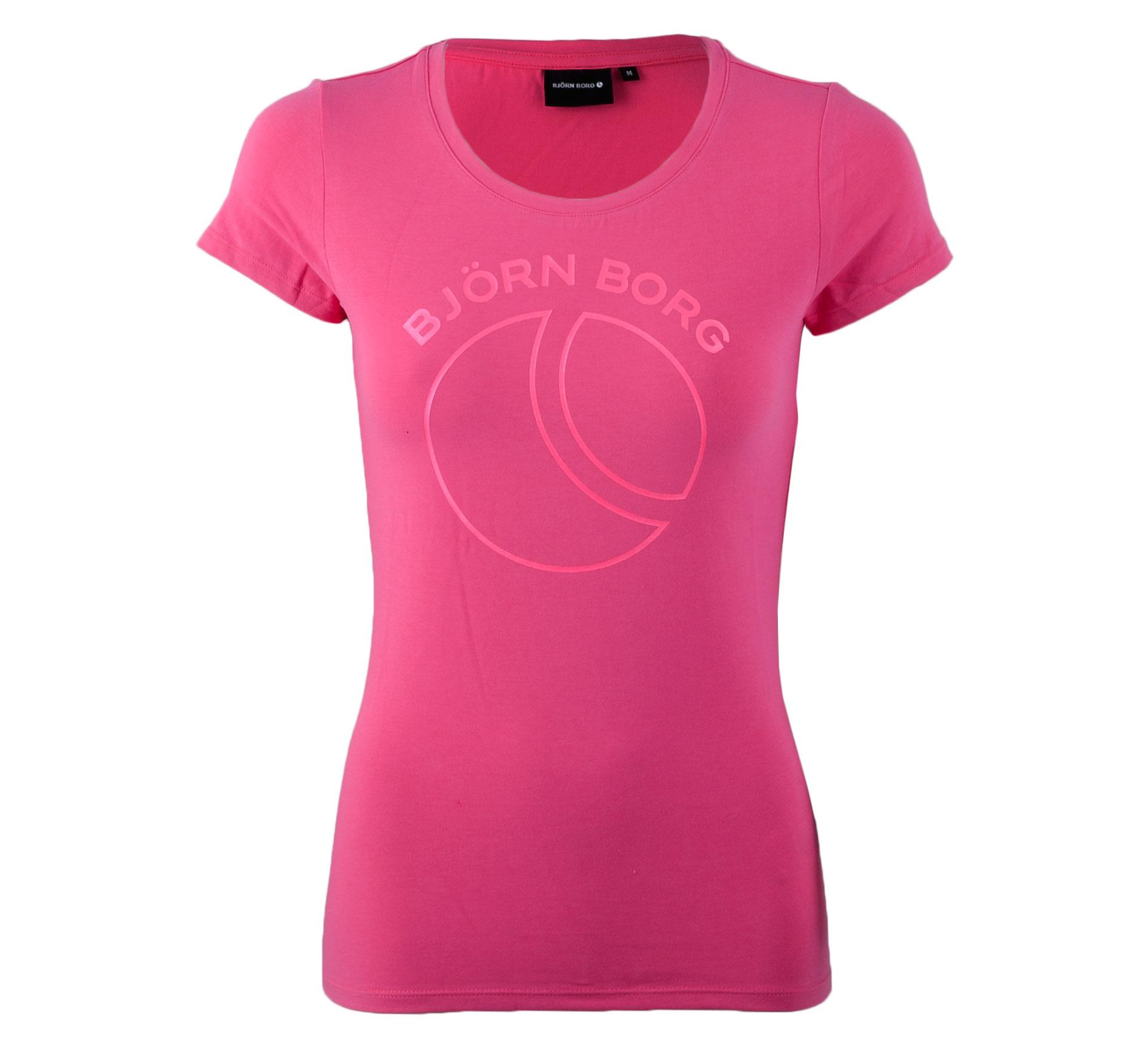 Bjorn Borg Björn Borg Mio T-shirt Dames roze