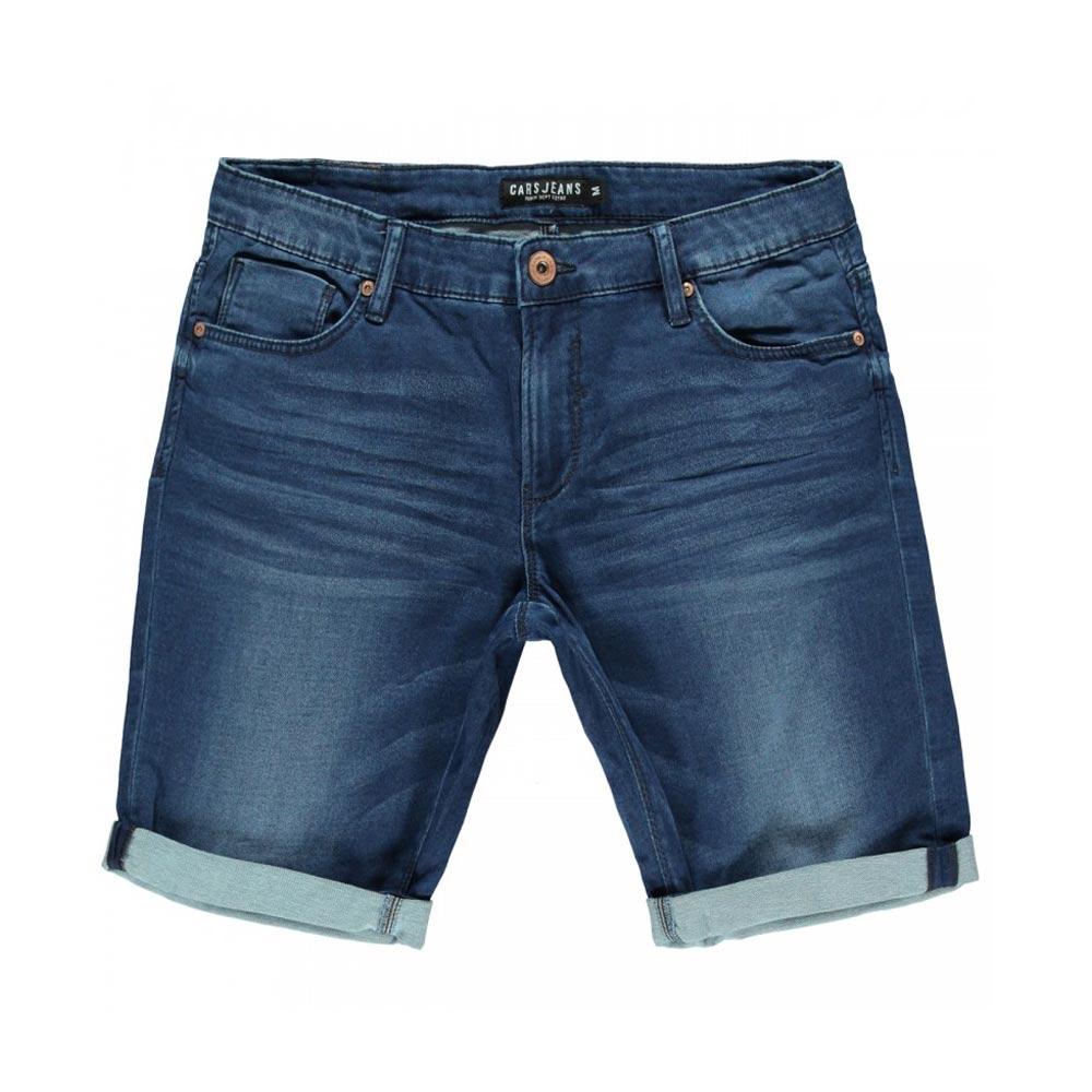 Cars Jeans Tuck short heren blauw