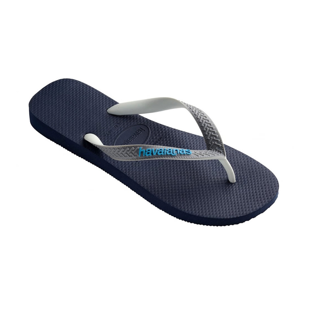 Havaianas Top Mix teenslippers kids marine/grijs