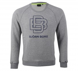 Bjorn Borg Björn Borg Lendo Crew Sweater Heren grijs