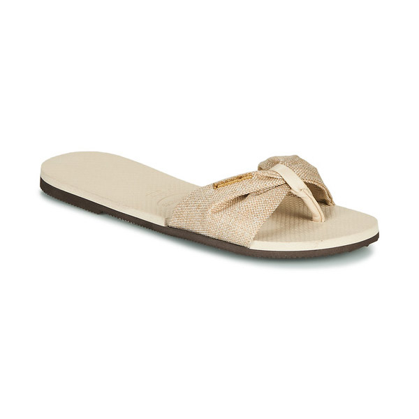 Havaianas You Saint Tropez teenslippers dames beige