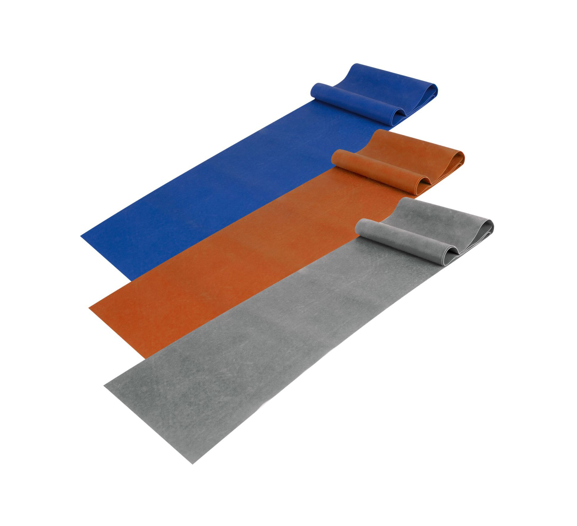 Avento  Fitness Stretch Band blauw - oranje - grijs