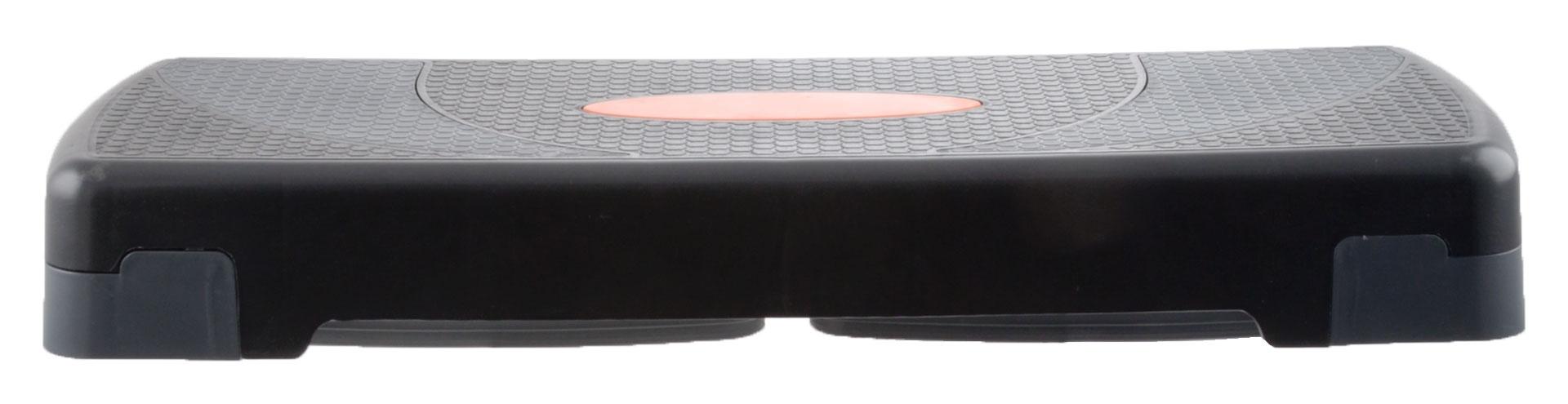 Avento Stepbank Large zwart - grijs - oranje