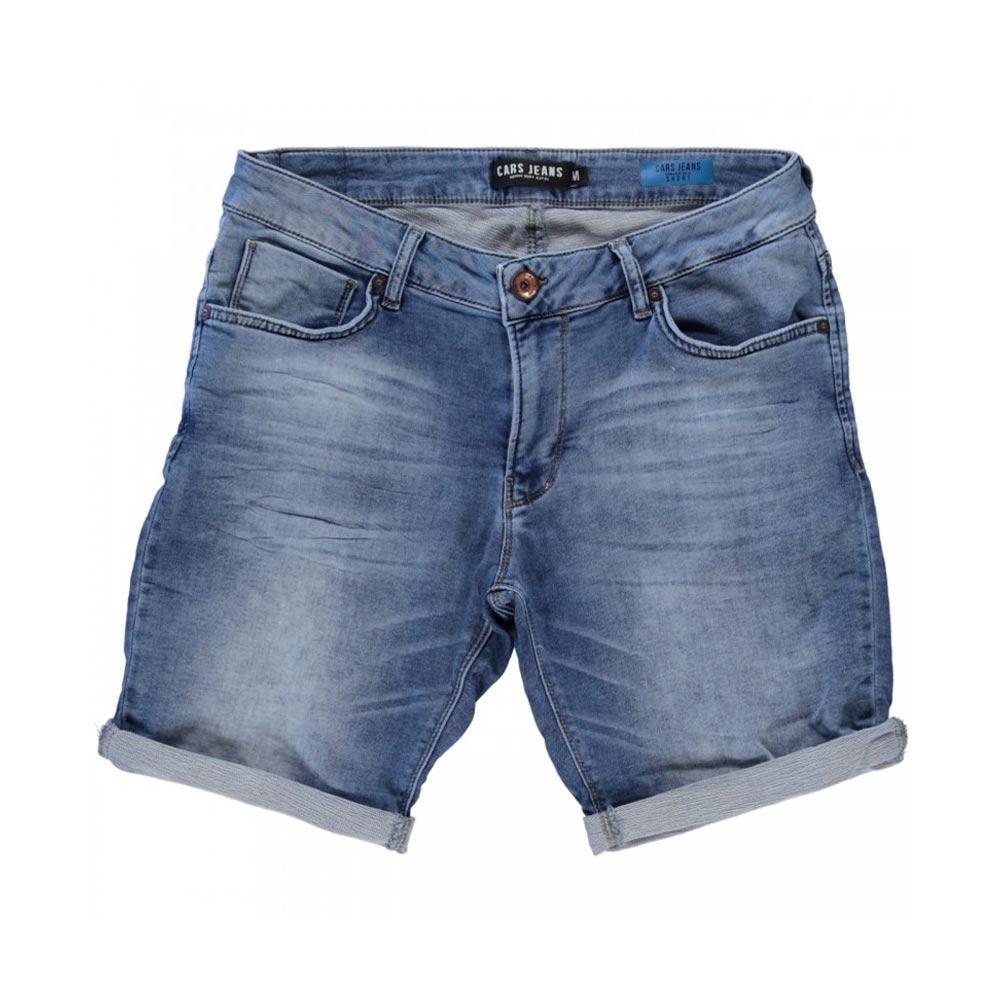 Cars Jeans Atlanta denim short heren licht blauw