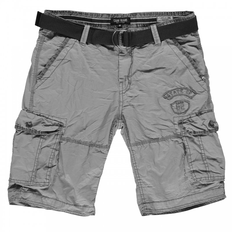 Cars Jeans Grascio short heren grijs