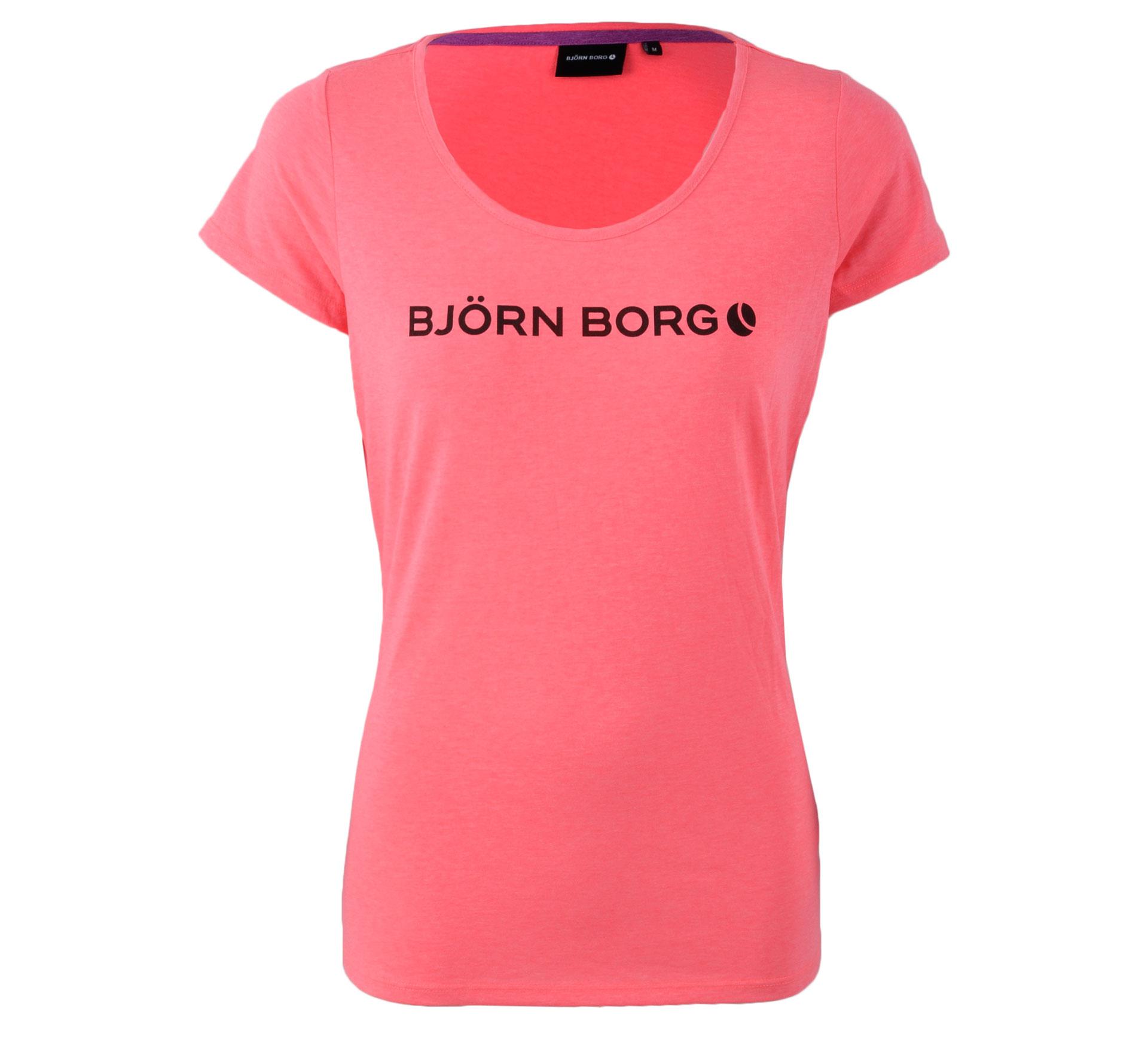 Bjorn Borg Björn Borg Sabea T-shirt Dames roze