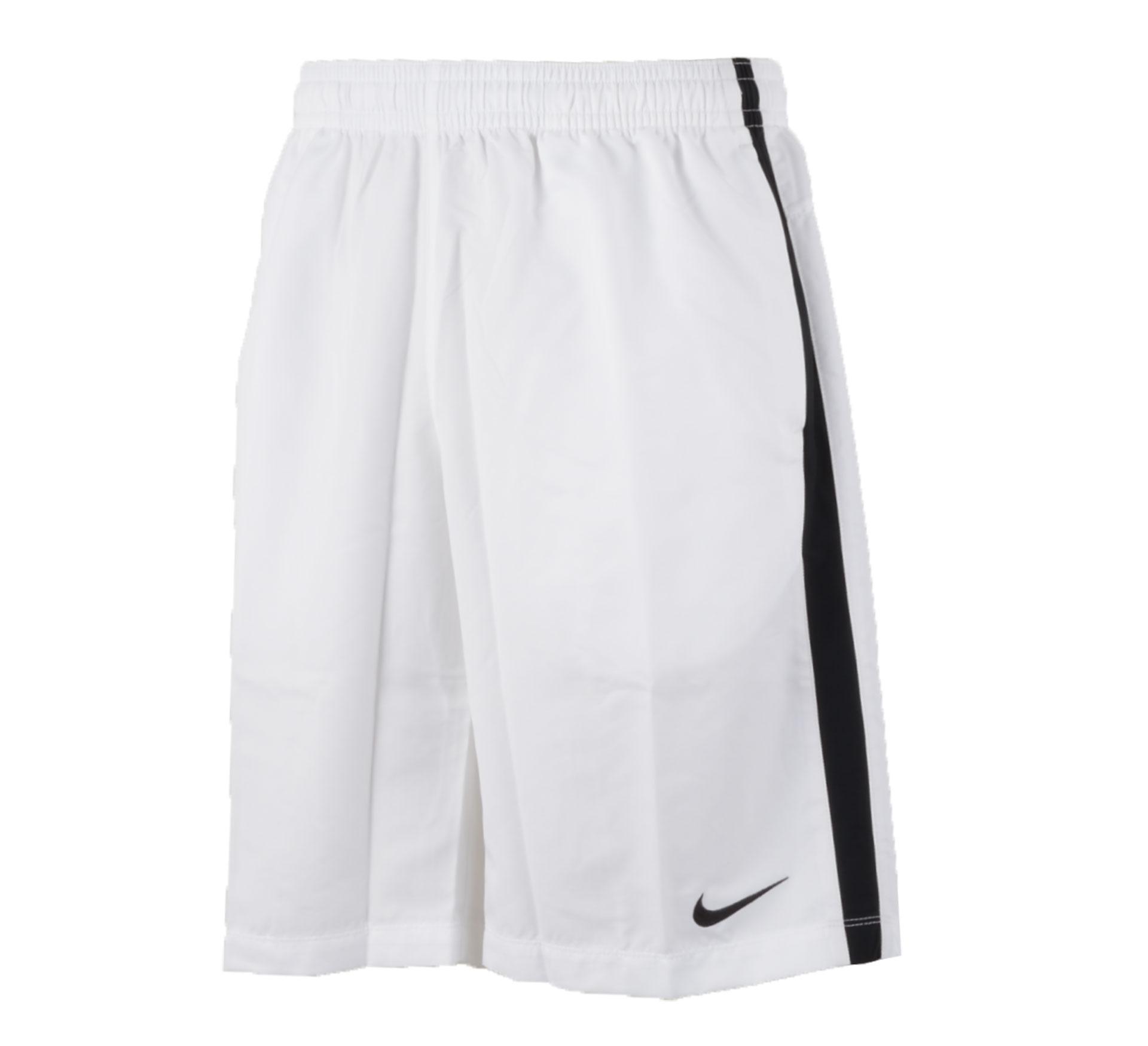 Nike  Express Longer Sport Short Heren wit - zwart