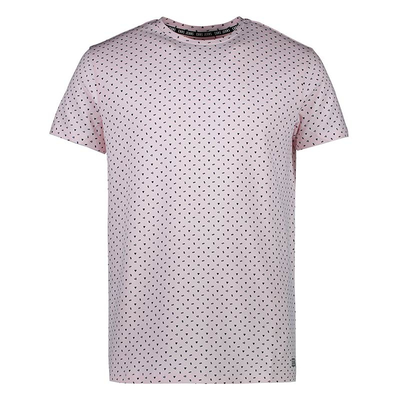 Cars Jeans Codall shirt heren roze/zwart