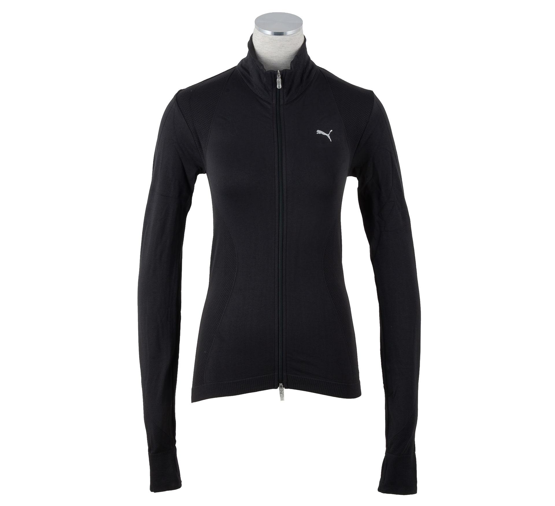Puma TP Naadloos Vest Dames zwart