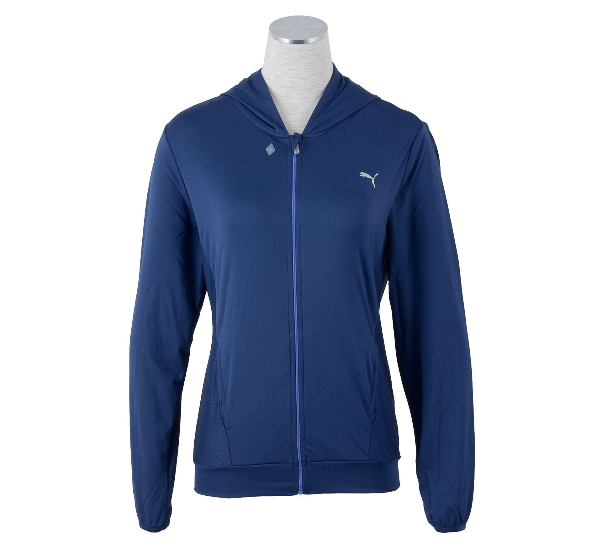 Puma TP Cover Up Vest Dames blauw/grijs