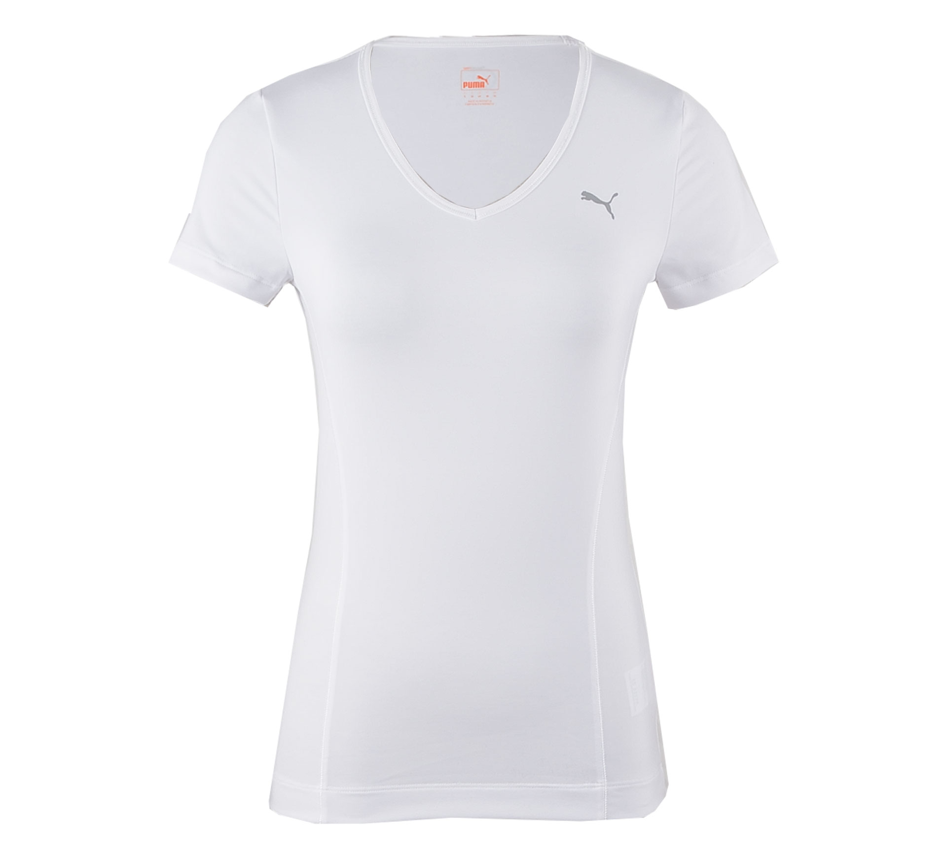 Puma Essential Training T-shirt Dames wit