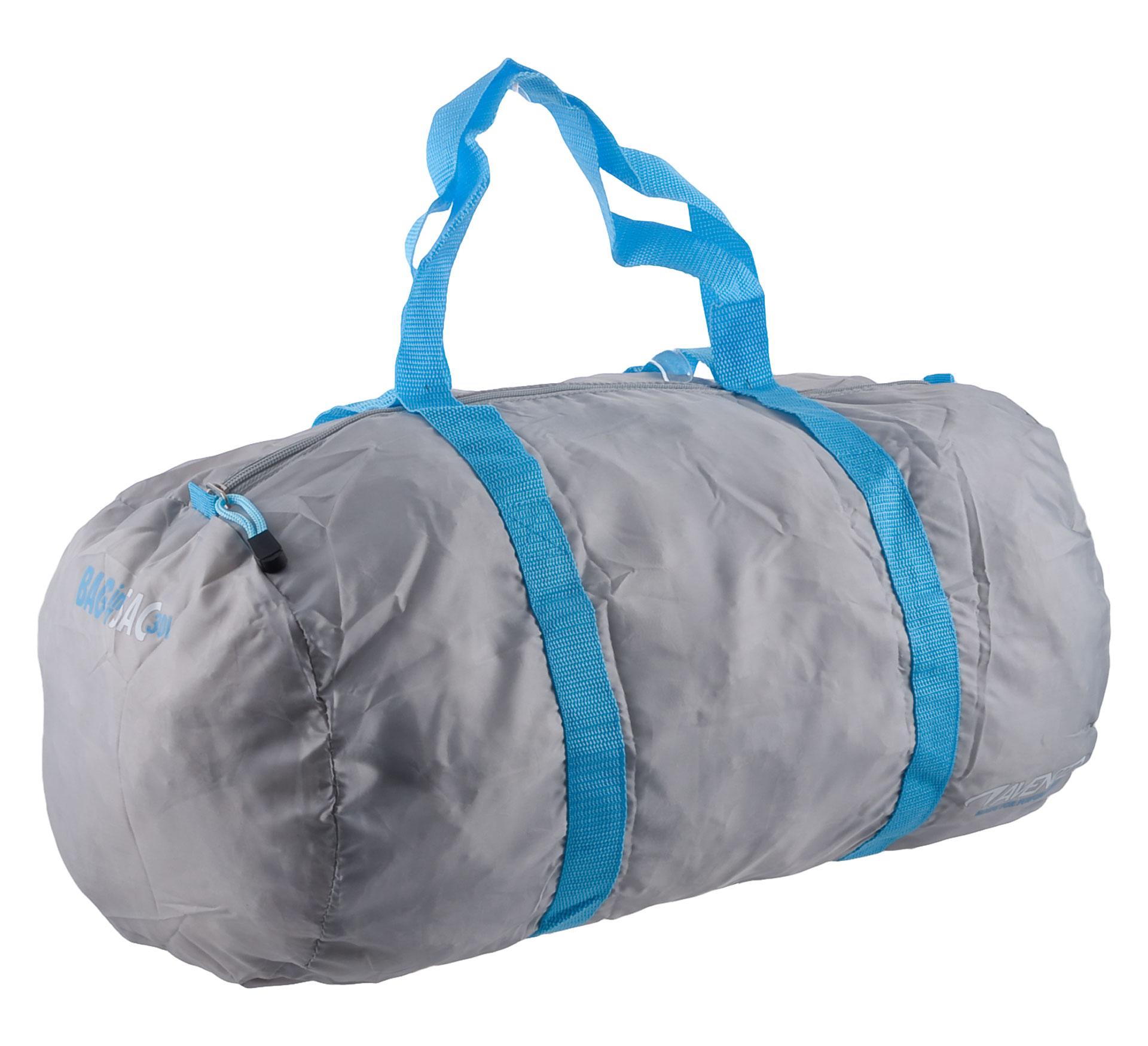 Avento Sports Tas in een Zak grijs - blauw