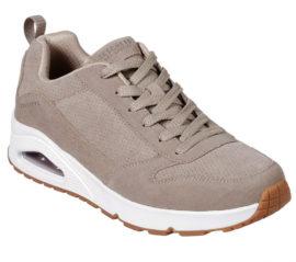 Skechers Taupe sneakers heren bruin