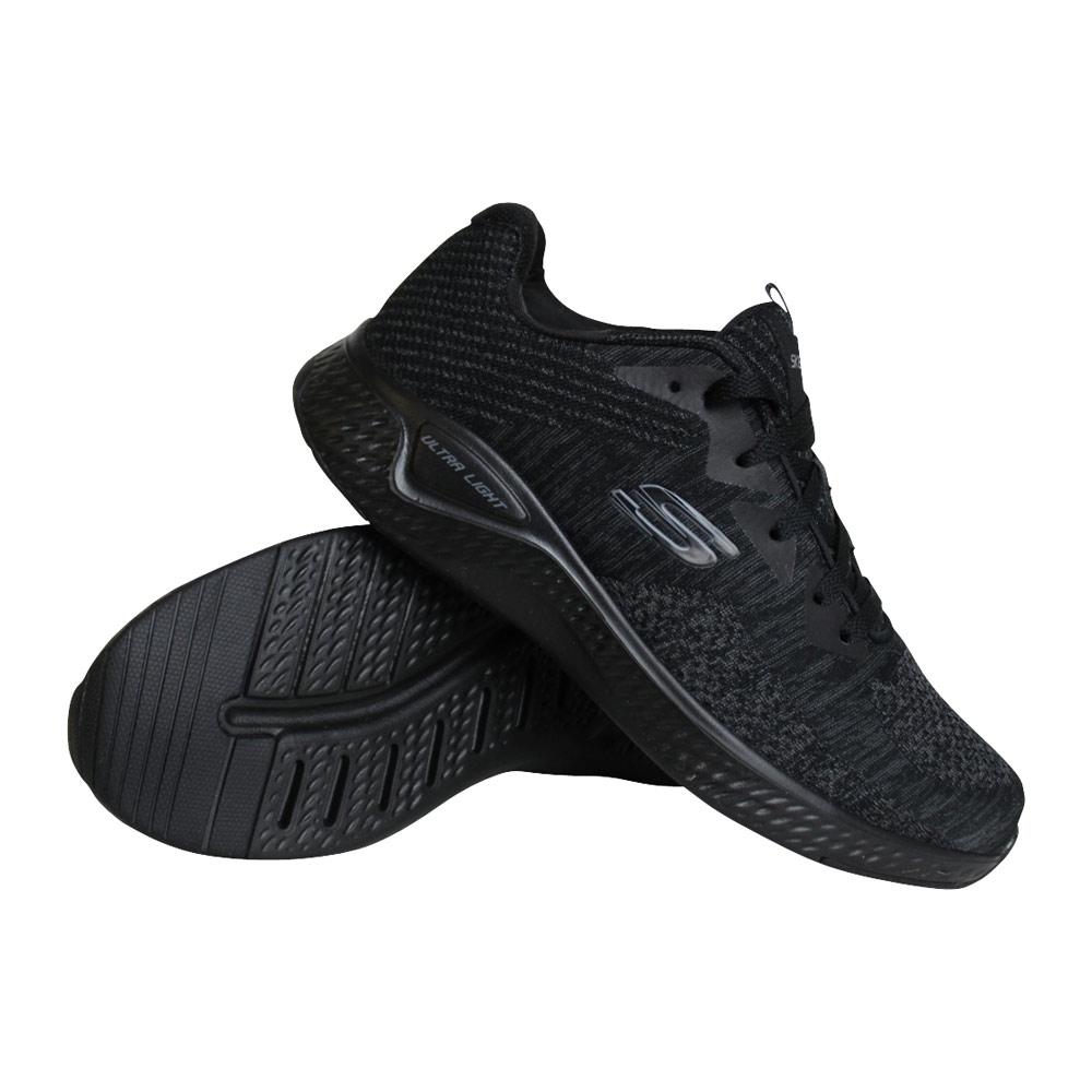 Skechers Solar Fuse Kryzik sneakers heren zwart