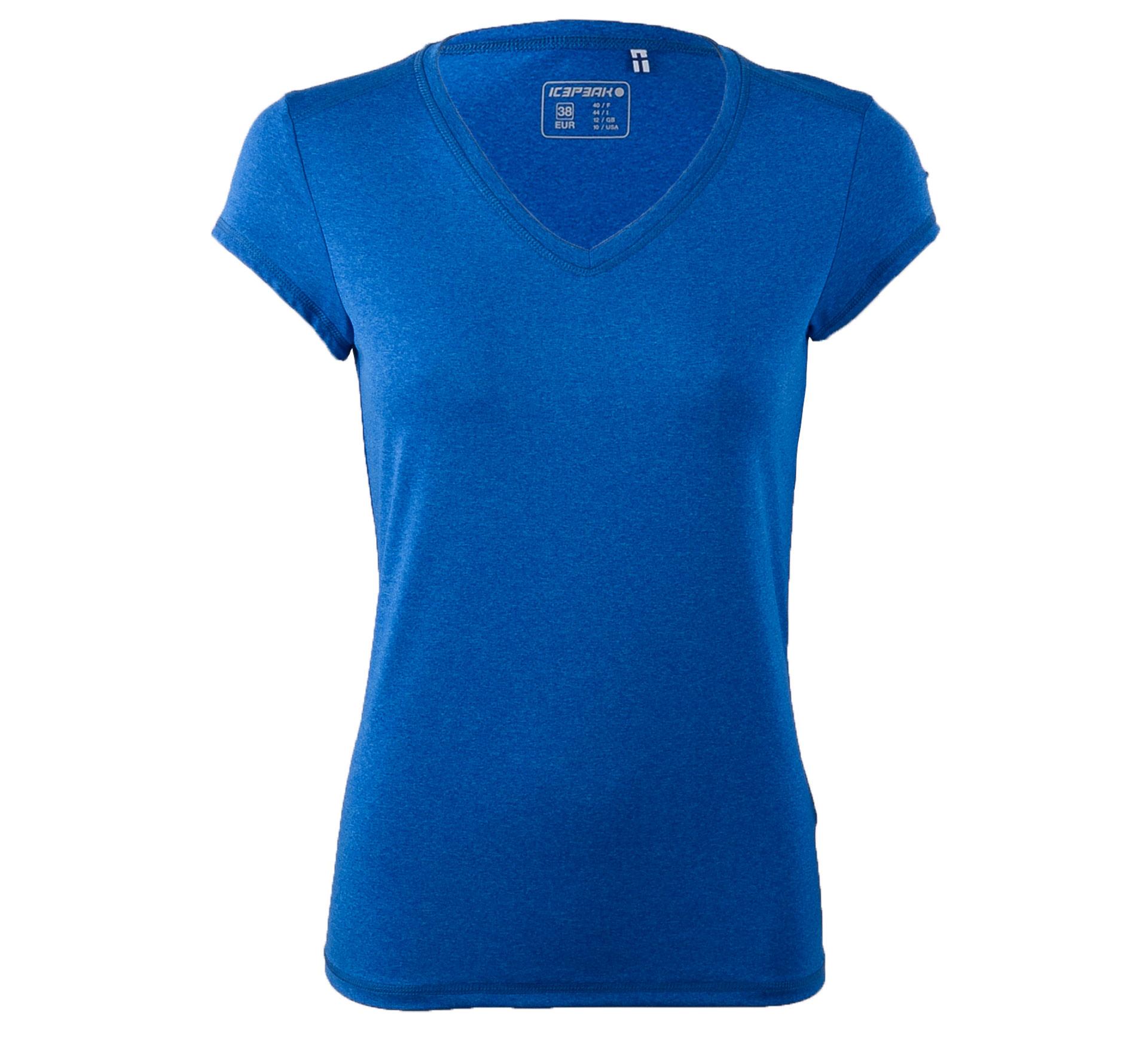 Icepeak  Leigh T-shirt Dames blauw