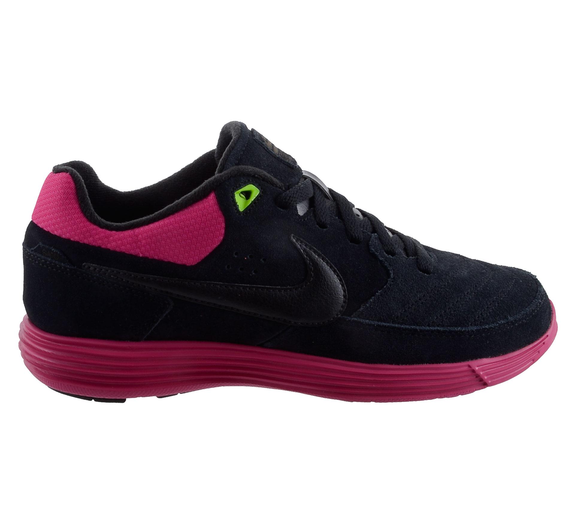 Nike NSW Lunar Gato Fitnessschoenen zwart - roze