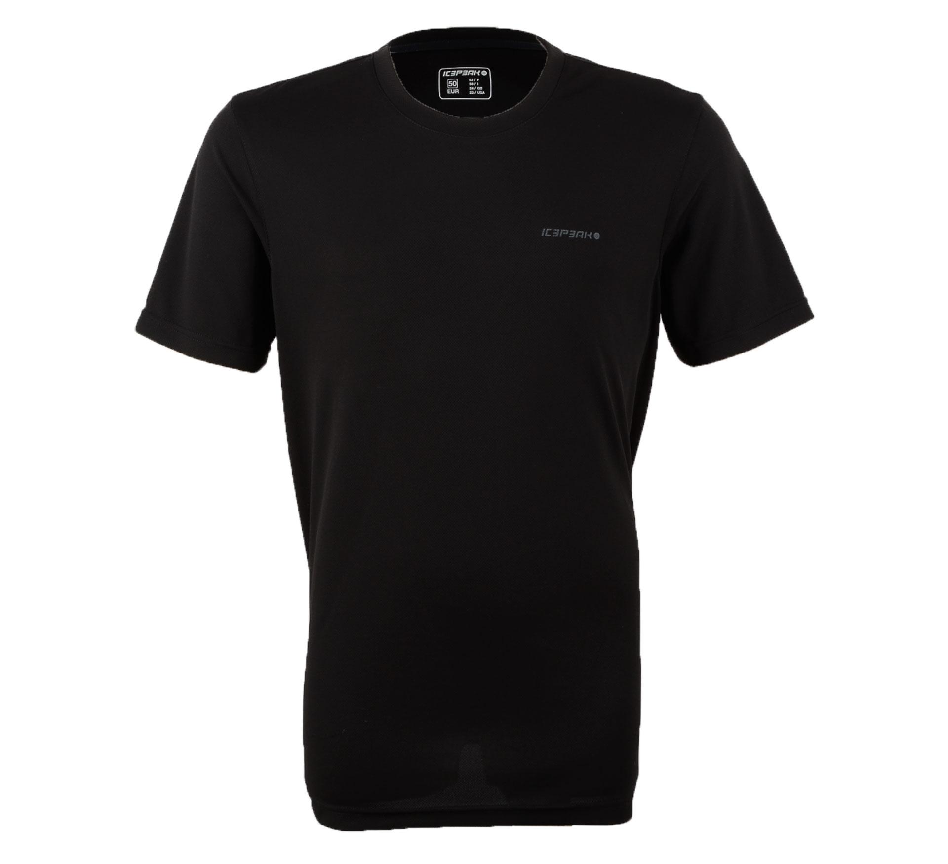 Icepeak T-shirt Revald Heren zwart