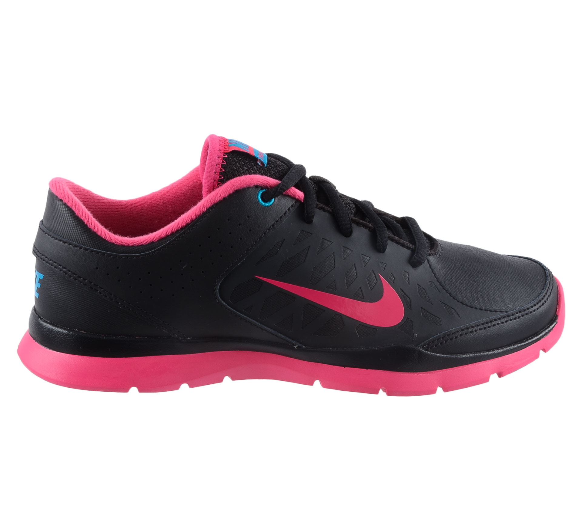 Nike  Core Flex Fitnessschoenen Dames zwart - roze