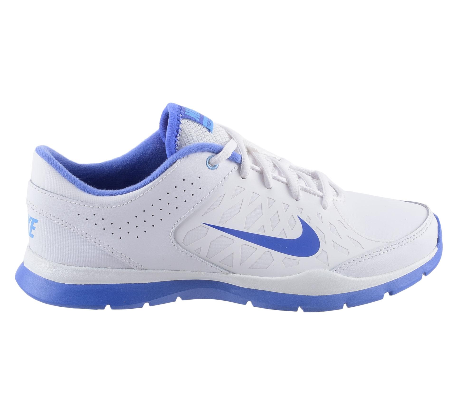 Nike  Core Flex Fitnessschoenen Dames wit - paars