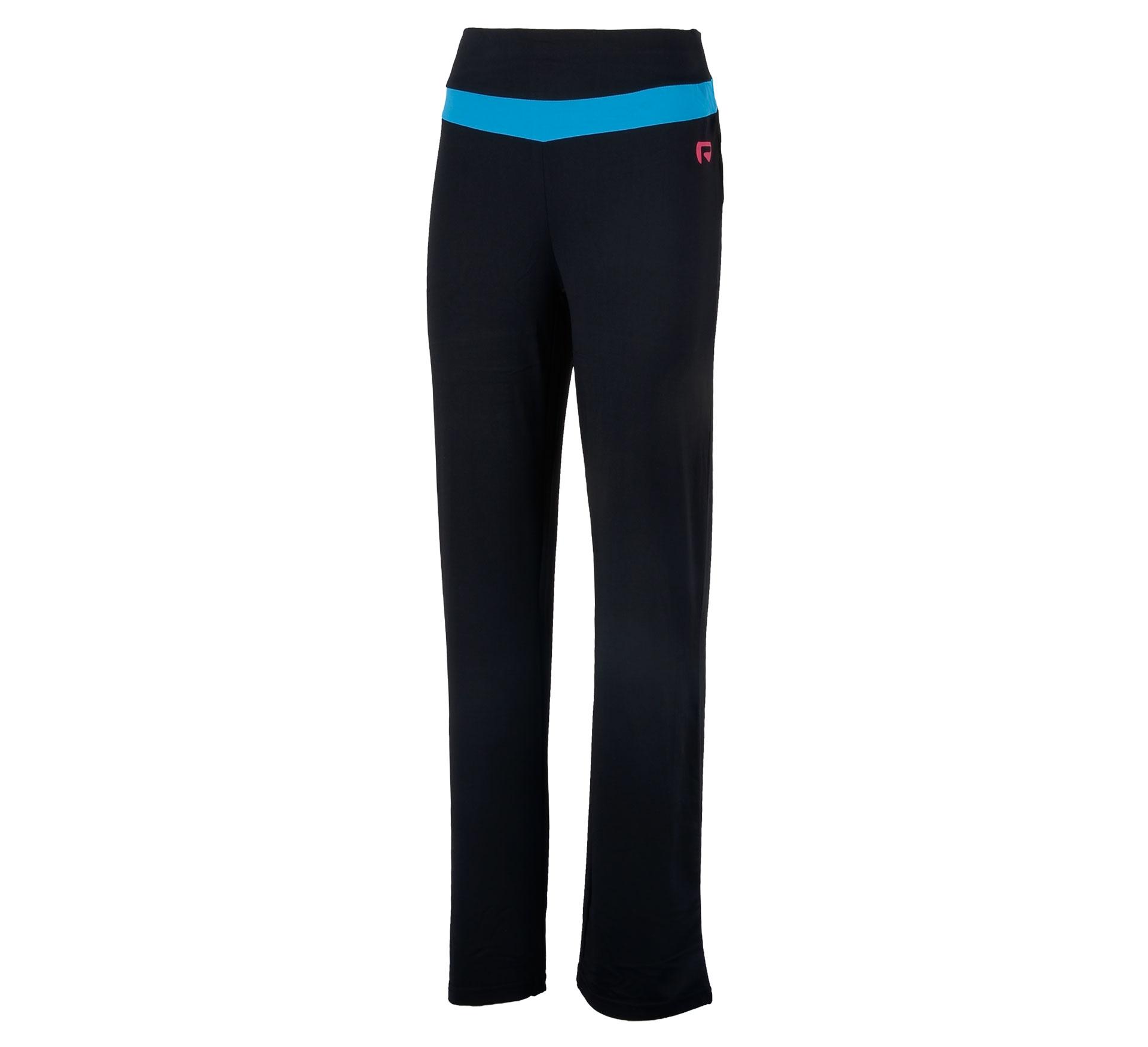Redmax Fitness Jazz Broek Dames zwart - blauw