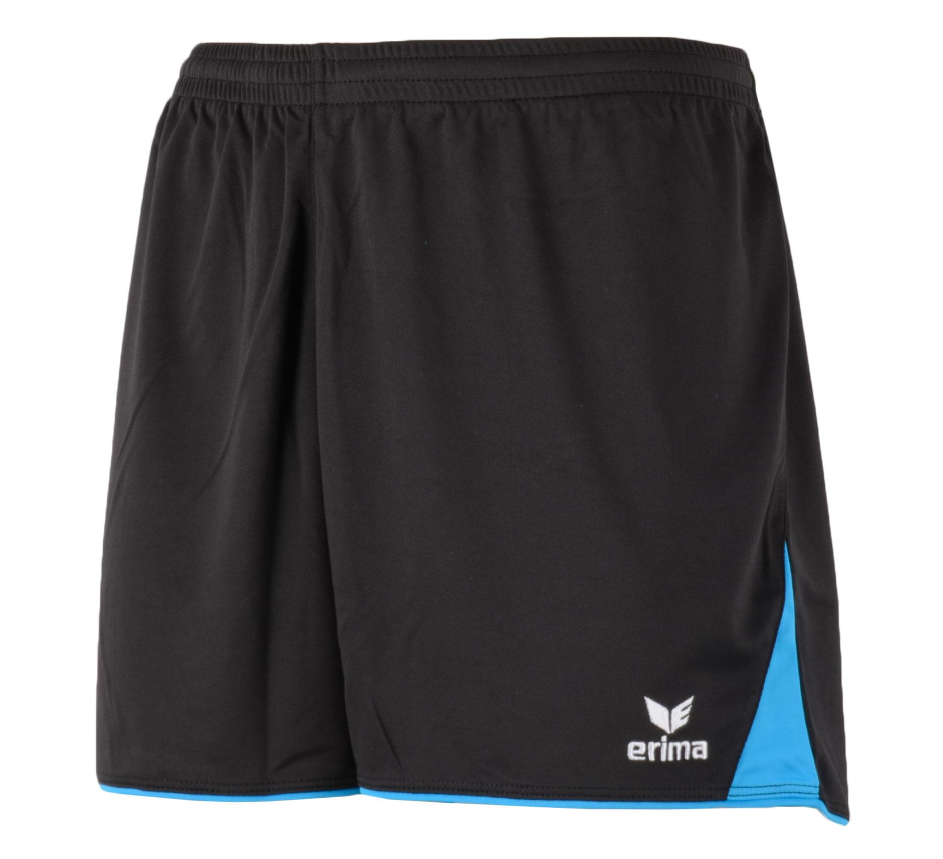 Erima  5-Cubes Short zwart - blauw