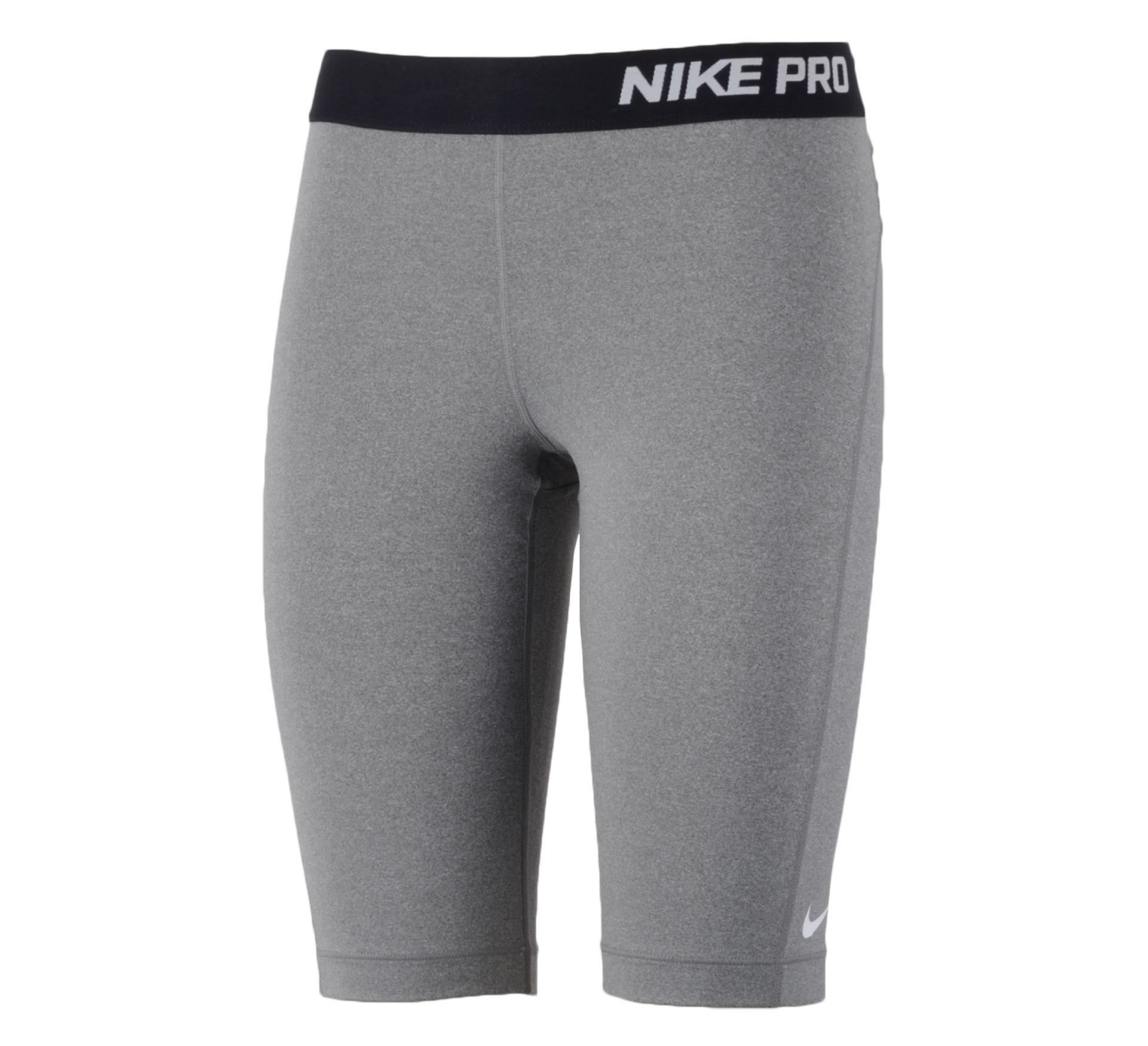 Nike Pro 11'' Short Dames grijs - zwart