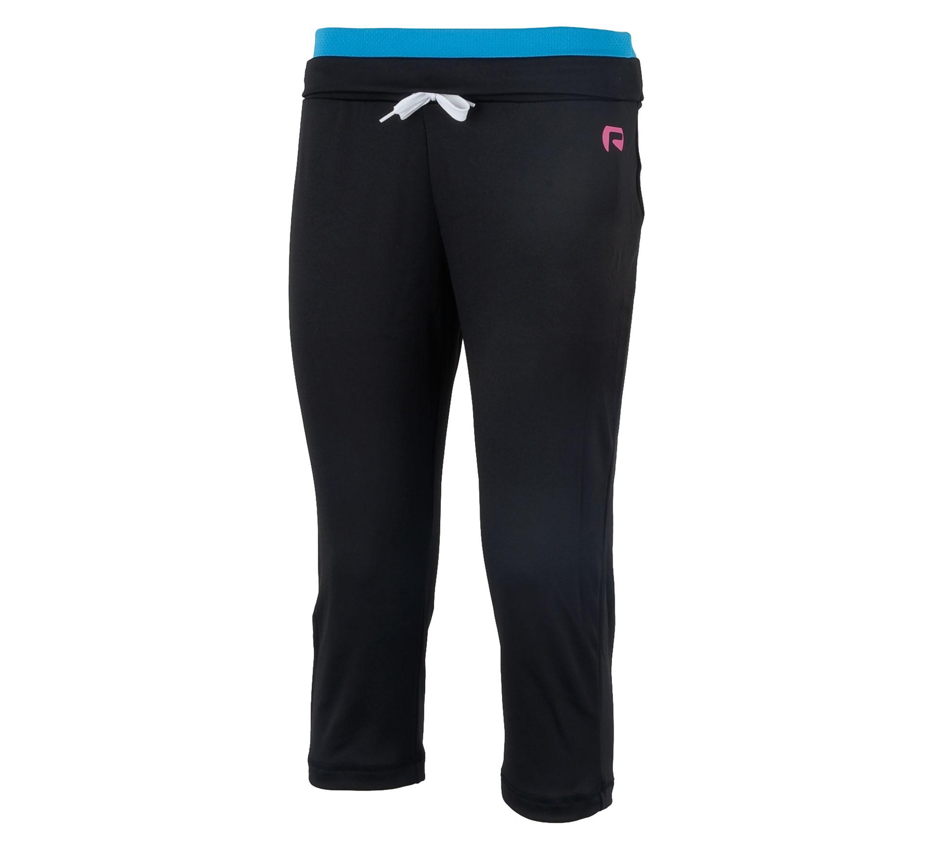 Redmax Fitness 3/4 Broek Dames zwart - blauw