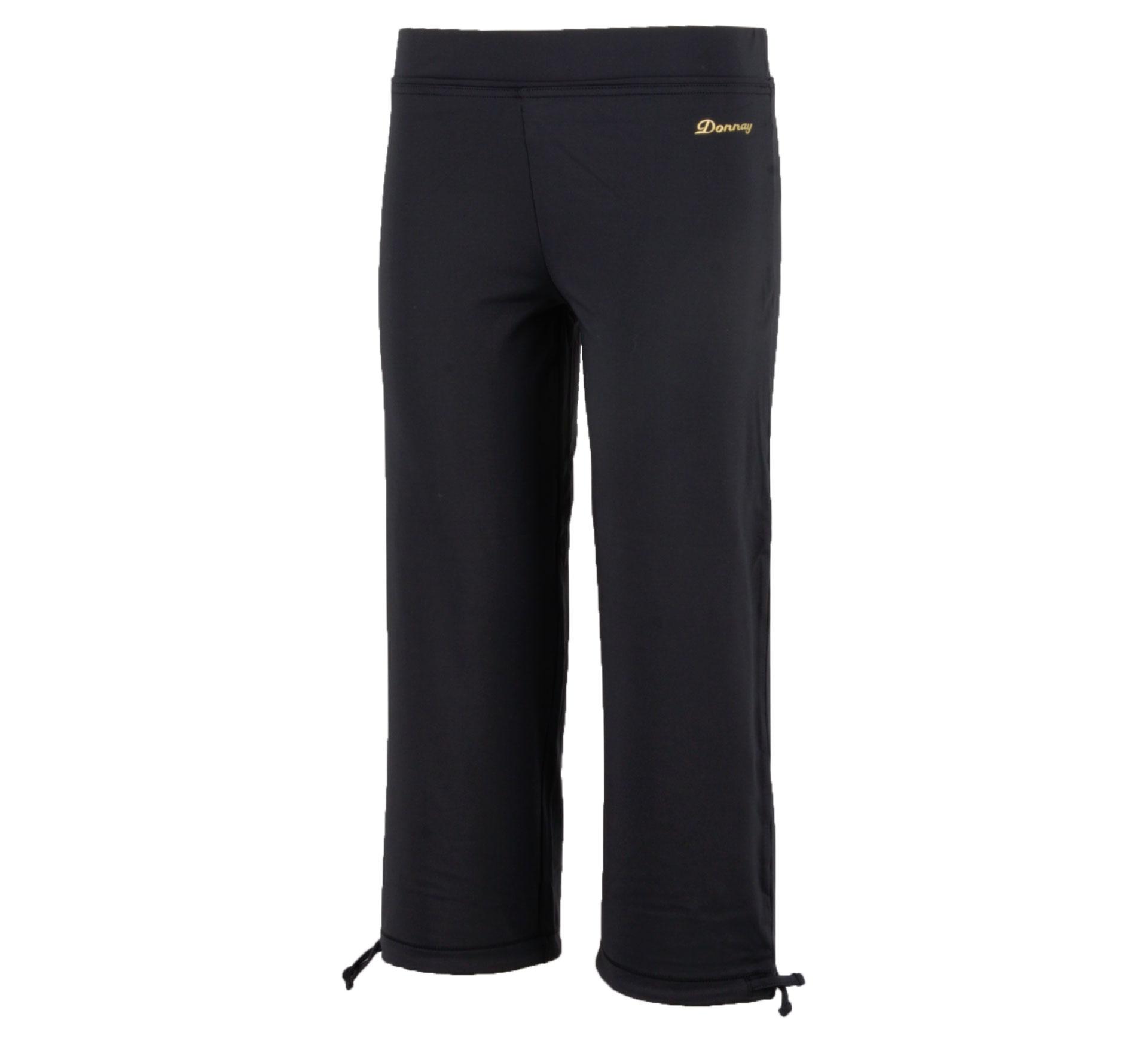Donnay 3/4 Fitnessbroek Dames zwart