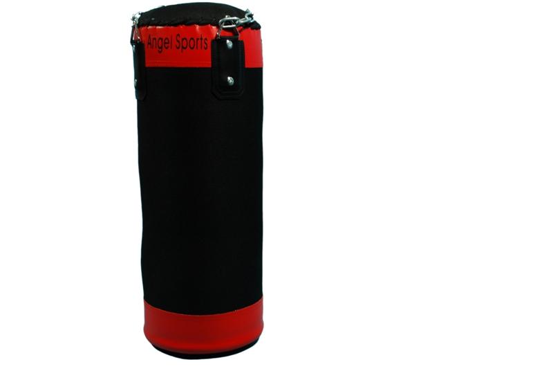 Angel Sports Bokszak 60 Cm - 10 Kg Rood/Zwart