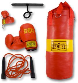Benlee Punchy Junior Boksset - Rood