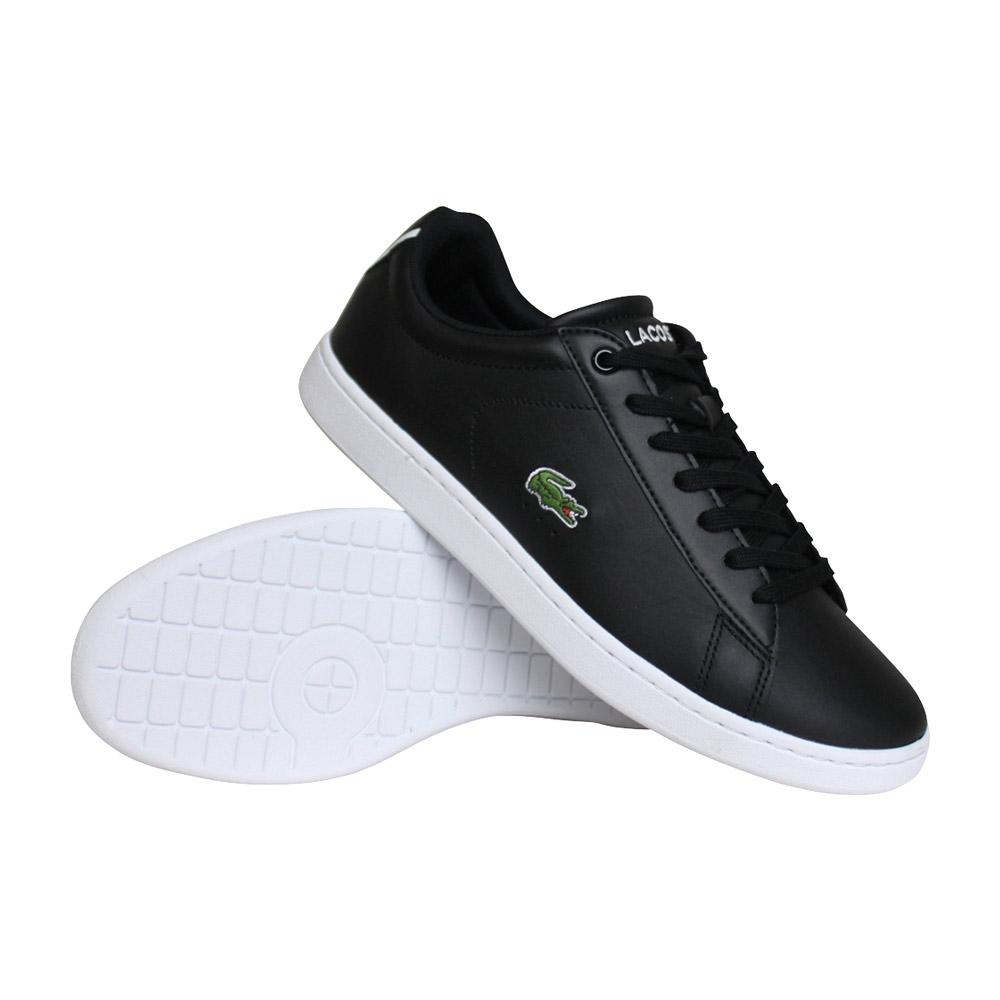 Lacoste Carnaby Evo BL sneakers heren zwart