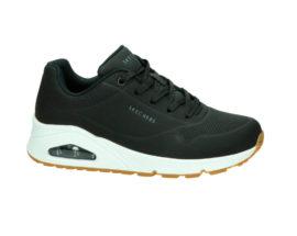 Skechers Uno Stand On Air Sneakers dames zwart