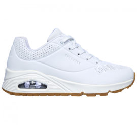 Skechers Uno Stand On Air Sneakers dames wit
