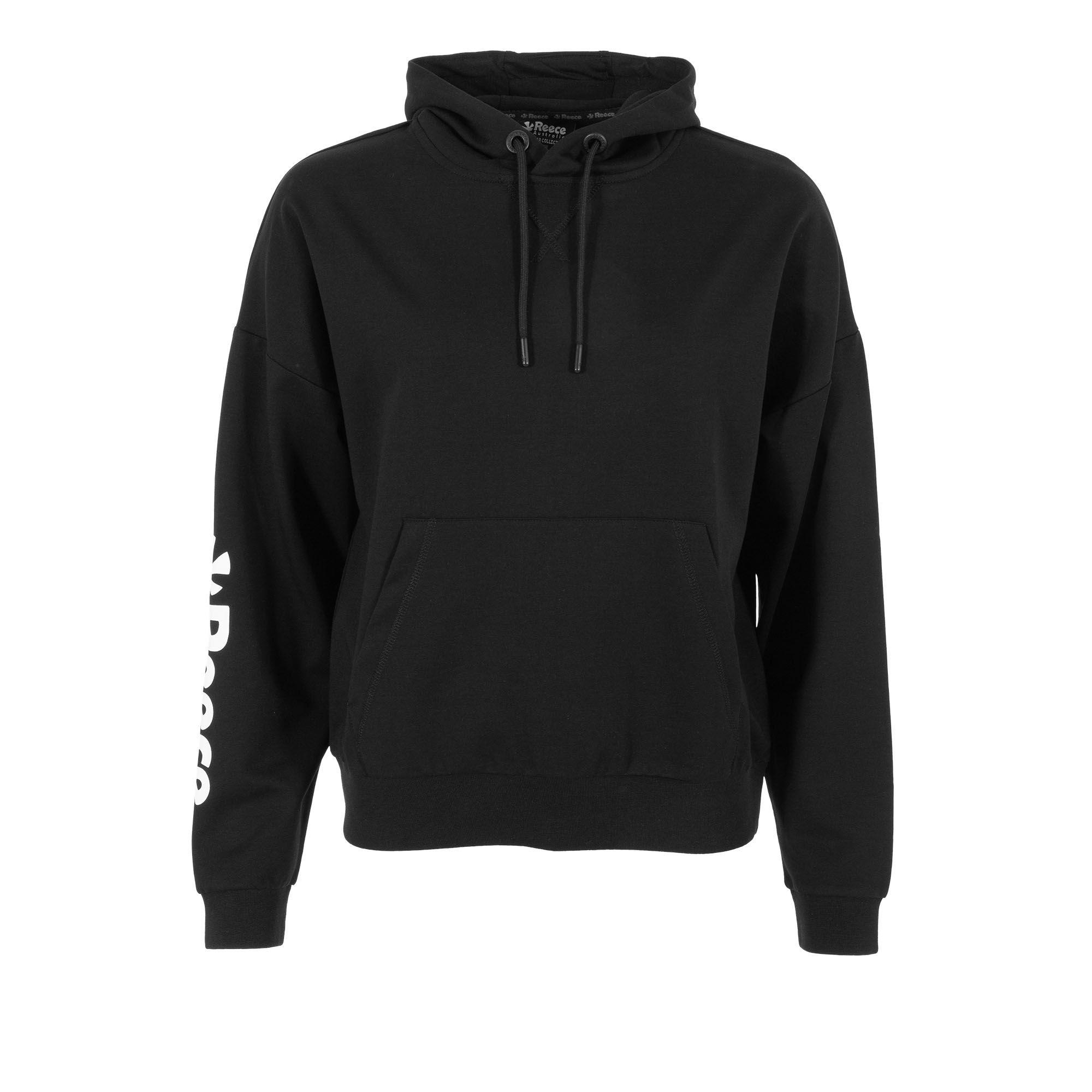 Reece oversized hoodie dames zwart