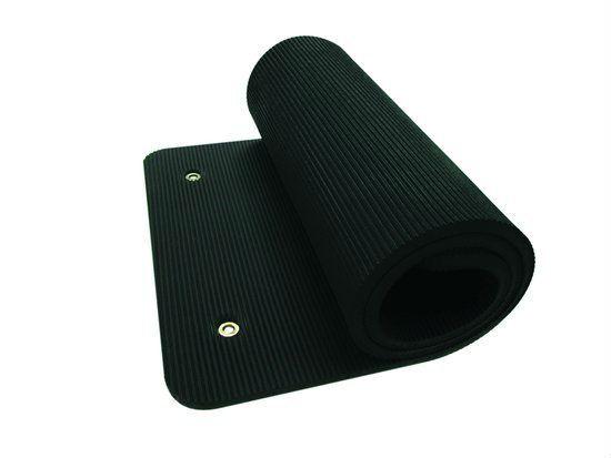 Tunturi NBR Professionele Fitness Mat - Zwart