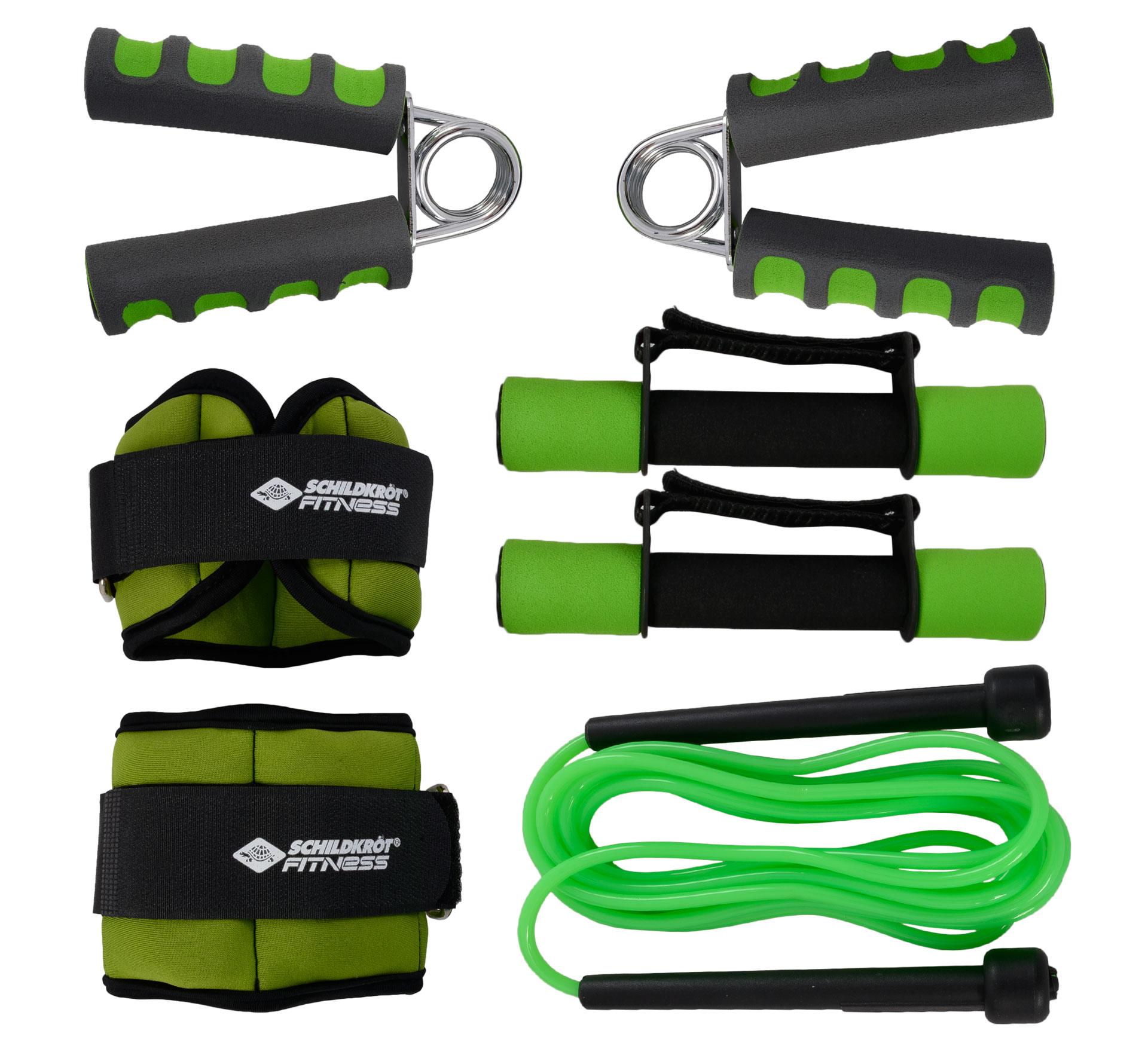 Donic Schildkrot Donic Schildkröt Fitness-Set zwart - groen
