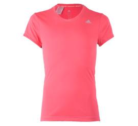 Adidas YG T Tee roze - wit