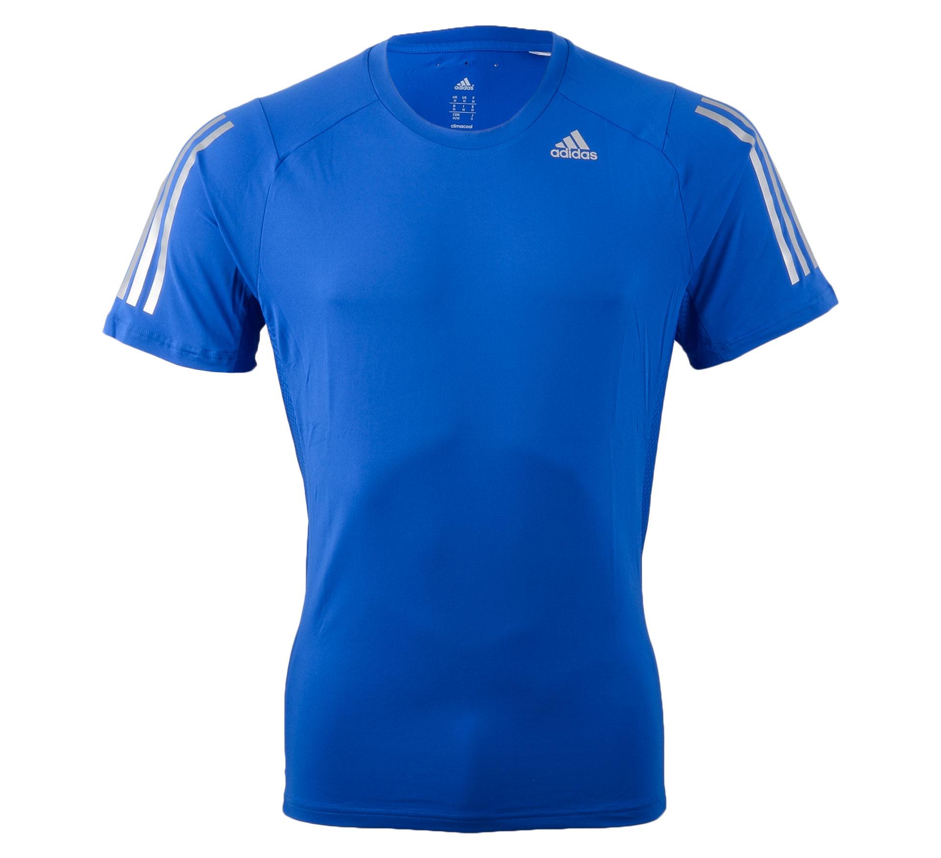 Adidas  Cool365 Tee blauw - zilver