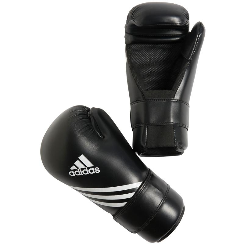 Adidas Semi Contact Handschoenen - Zwart