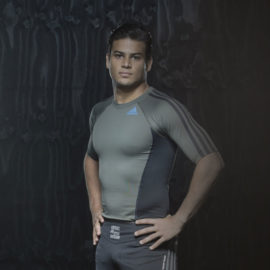 Adidas Grappling Rashguard Korte Mouw