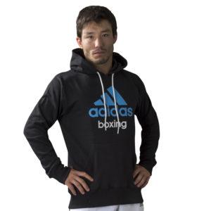 Adidas Community Junior Hoodie - Zwart/Blauw