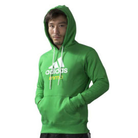 Adidas Community MMA Hoodie - Groen/Wit