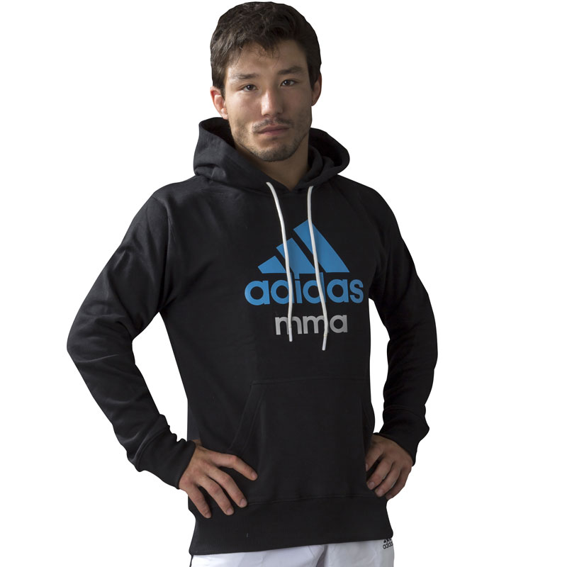 Adidas Community MMA Hoodie - Zwart/Blauw