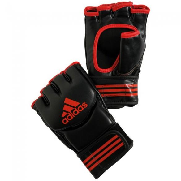 Adidas  Traditional Grappling Handschoenen - Zwart/Rood